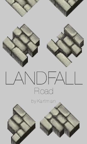 LandFall-road