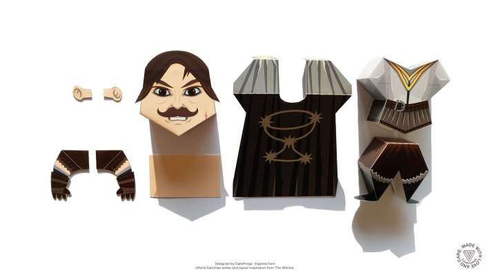 Ultima Online Paper Toy