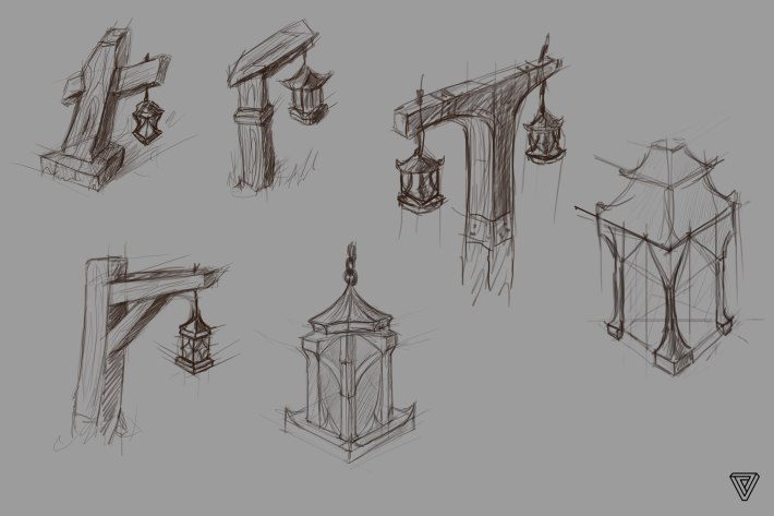 Ultima Online Landfall Sketches