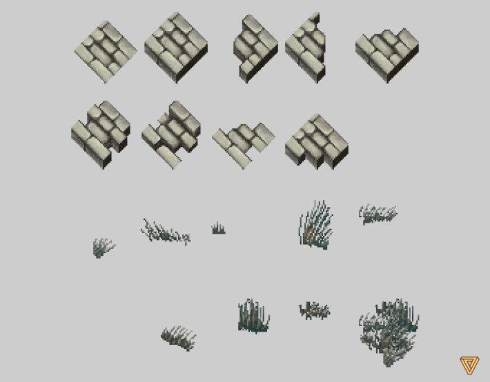Ultima Online LandFall Grass Assets