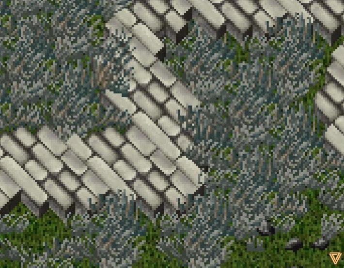 Ultima Online LandFall Grass ZoomIn