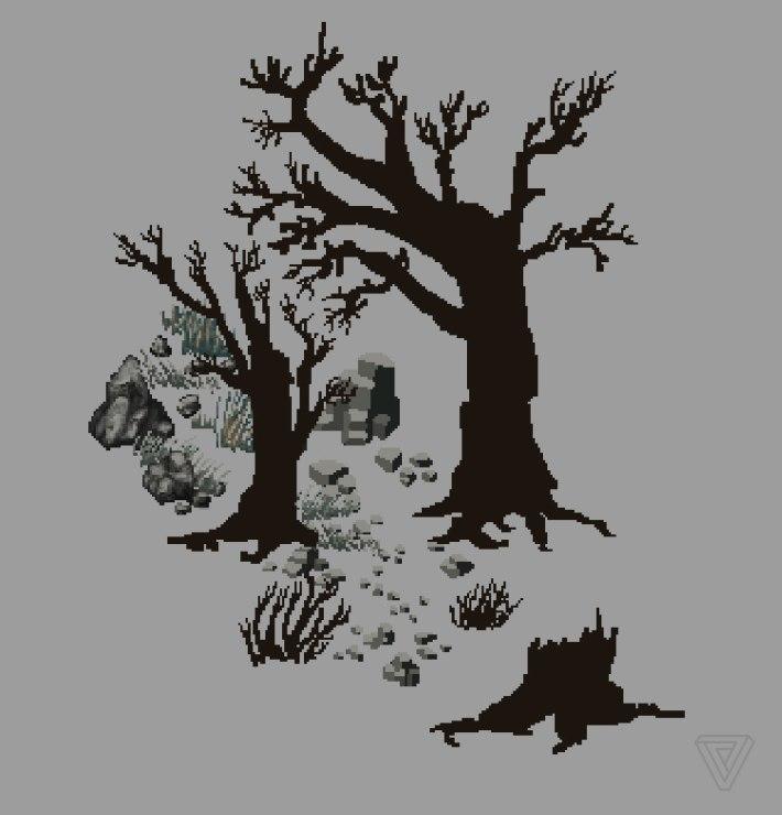 Ultima Online LandFall trees