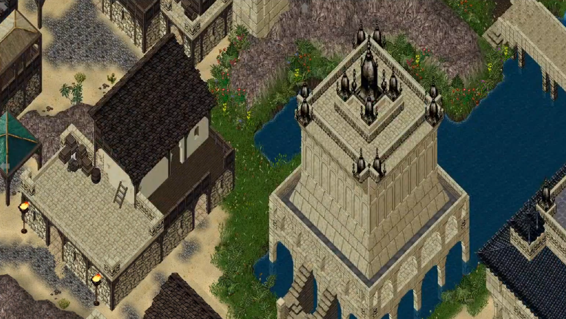 Sneak peek from Part II Collins Ultima Online Custom Map and more