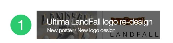 Ultima LandFall new logo