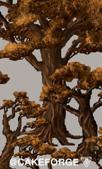 Ultima LandFall trees